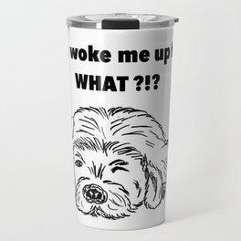 Moody dog Travel Mug