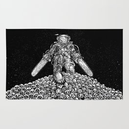 Texas Chainsaw Astronaut: New Moon Rug