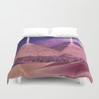 egypt Duvet Covers featuring Hipsterland - Egypt by Alejo Malia
