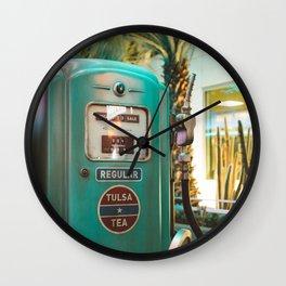 Vintage oil Wall Clock
