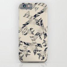 B&W Aztec pattern illustration iPhone 6s Slim Case