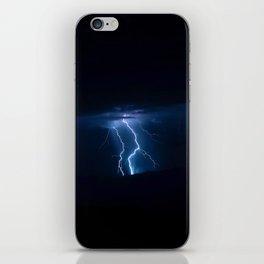 Lightning Strikes - III iPhone Skin