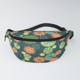 Lily pad pond Fanny Pack