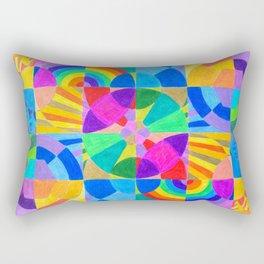 Interconnection Rectangular Pillow