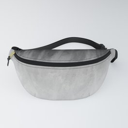 Ice Rays in a Black Sky Fanny Pack