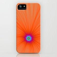 Tangerine Color Explosion iPhone (5, 5s) Slim Case