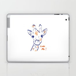 Girafe-Love me Laptop & iPad Skin