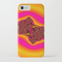 tequila iPhone & iPod Cases featuring Tequila Sunrise by Christy Leigh