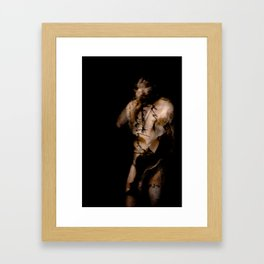 Falling Inside Myself Framed Art Print
