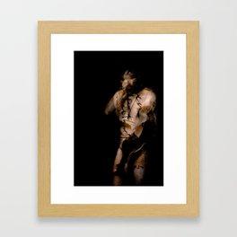 Falling Inside Myself Framed Art Print