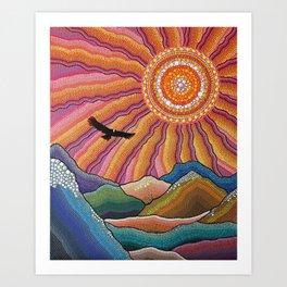 Flight of the Condor Art Print