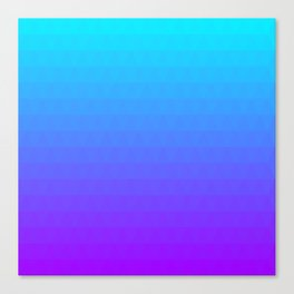 Blue and Purple Ombre Canvas Print