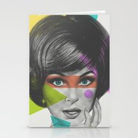 makeup Stationery Cards featuring Makeup by Zeke Tucker
