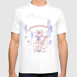 Mariachi in the Desert T-shirt