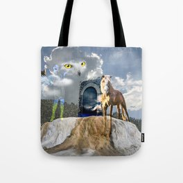 Horseplay For The Divine Tote Bag