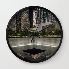 9-11 Memorial New York City Wall Clock