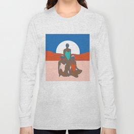 Full moon 2017 Long Sleeve T-shirt