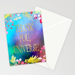 Thank You, Universe! Stationery Cards