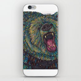 GRRR-IZZLY iPhone Skin