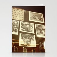 dallas Stationery Cards featuring DALLAS WINDOW by Johnny Cashley