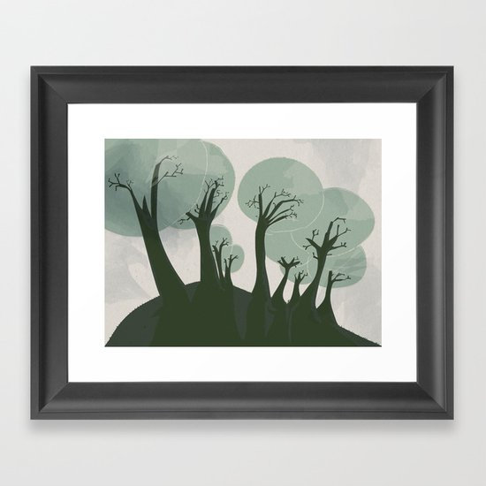 Trees 3 Framed Art Print