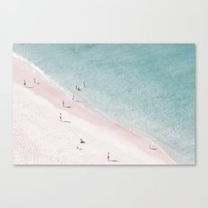 beach family love Canvas Print