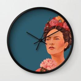 moi, Frida! Wall Clock