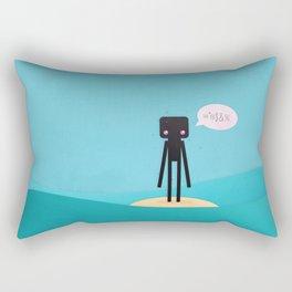 Enderman Island Rectangular Pillow