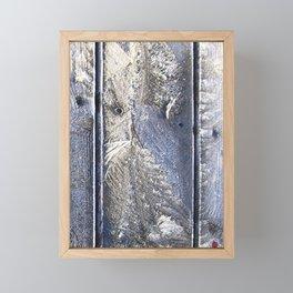 Frost Owl Framed Mini Art Print