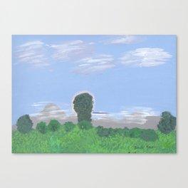 Balmy Summertime Canvas Print