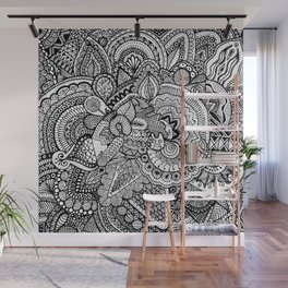 Doodle 17 Wall Mural