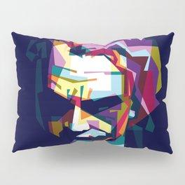 joker in colorful popart style Pillow Sham