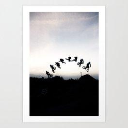 360 secuence Art Print