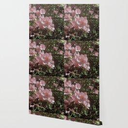 Happy Little Pink Flowers Wallpaper
