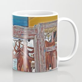 Ammoudi Fish Tavern, Oia Coffee Mug