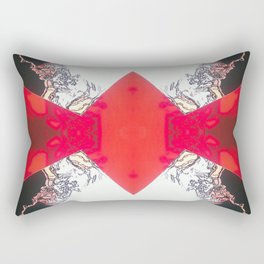 Diamond Crevasse  Rectangular Pillow