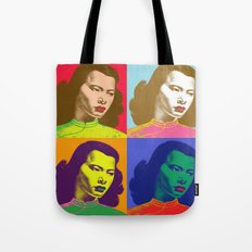 4 Chinese Girls Tote Bag