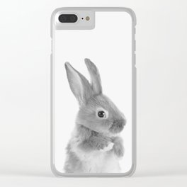 Little Rabbit Clear iPhone Case