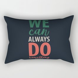 Giovanni Falcone quote, justice, life, fight, civil, political rights, human, politics Rectangular Pillow
