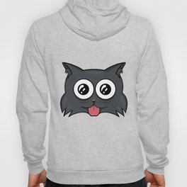 Crazy cat Hoody