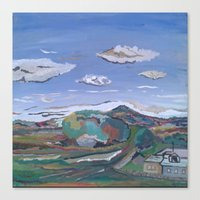 country Canvas Prints featuring Country by Thomas Madden
