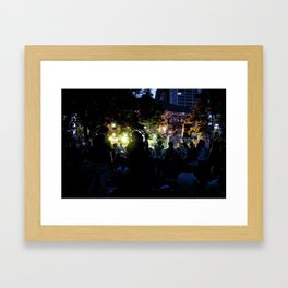 Electronic Music Framed Art Print