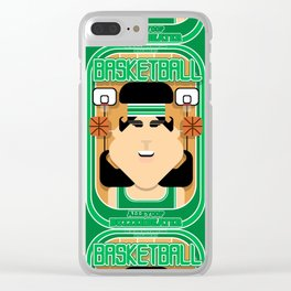 Basketball Green - Alleyoop Buzzerbeater - Amy version Clear iPhone Case