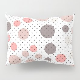 Scandinavian floral seamless pattern Pillow Sham