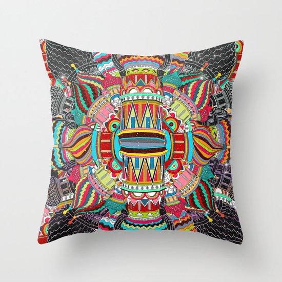 Trinity (Feat. FalcaoLucas) Throw Pillow