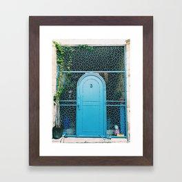 Israel Door Framed Art Print
