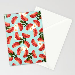 Caprese #society6 #decor #pattern Stationery Cards
