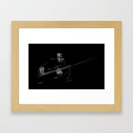 Jaco Pastorius - Jazz Bassist Framed Art Print