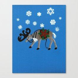 Ready for Santa's Sleigh Canvas Print