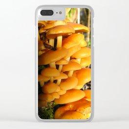 Mushroom World Clear iPhone Case